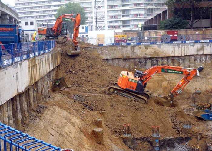 Bulk Excavation in Westminister completed