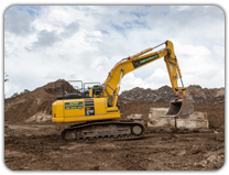 Bulk Excavation at Thames Materials