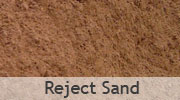 Reject Sand