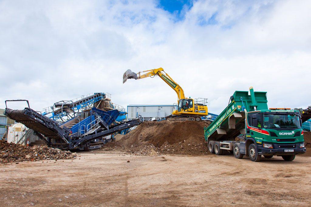 Recycling Thames Materials